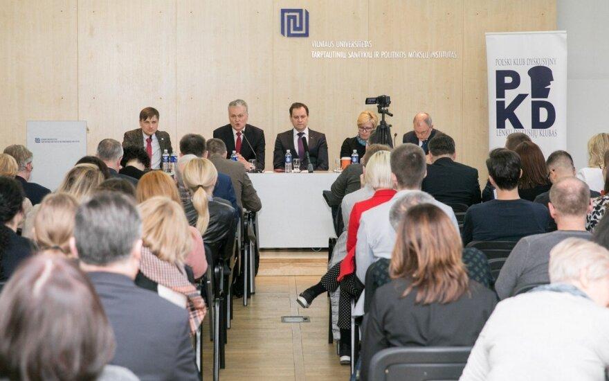 Кандидаты в президенты Литвы готовы защищать права нацменьшинств, но по-своему