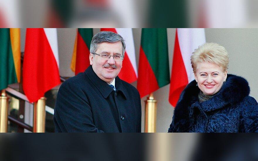 Bronislawas Komorowskis, Dalia Grybauskaitė