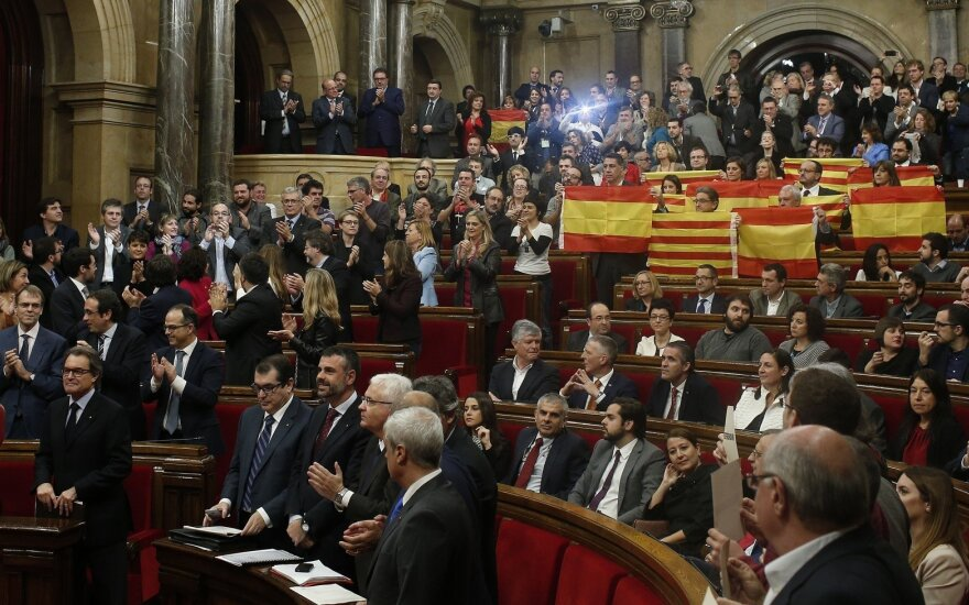 В Барселоне задержан сотрудник каталонского правительства