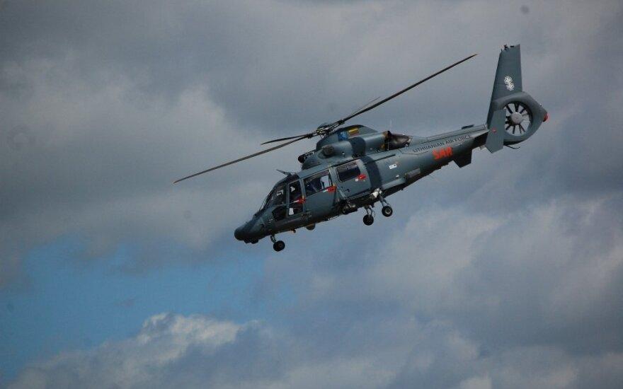 Ночью вертолет ВВС искал пропавшего 12-летнего мальчика