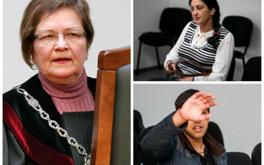 Скандал в суде: цыганка прокляла судью, конфисковавшего дом сына