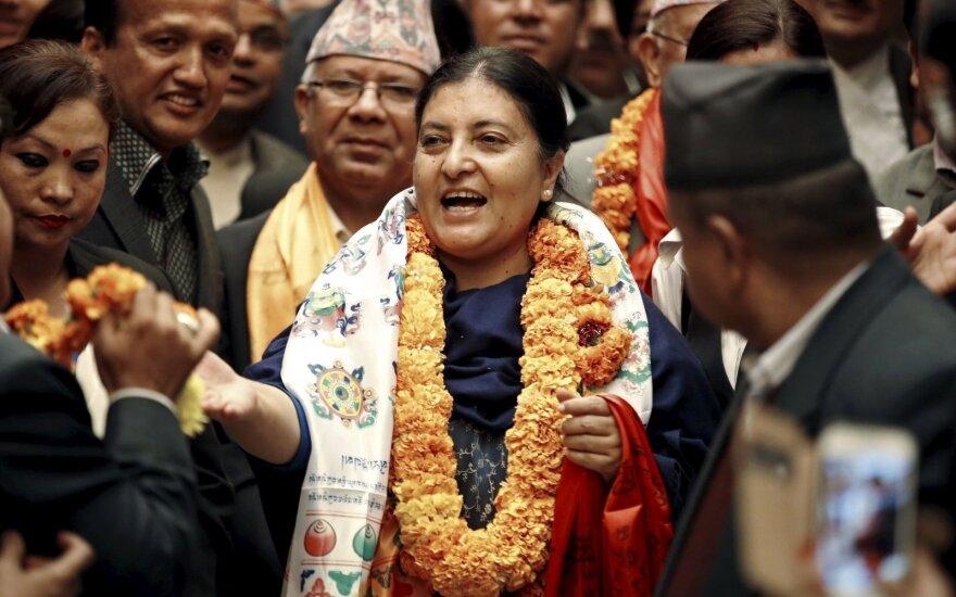 Президентом Непала впервые стала женщина