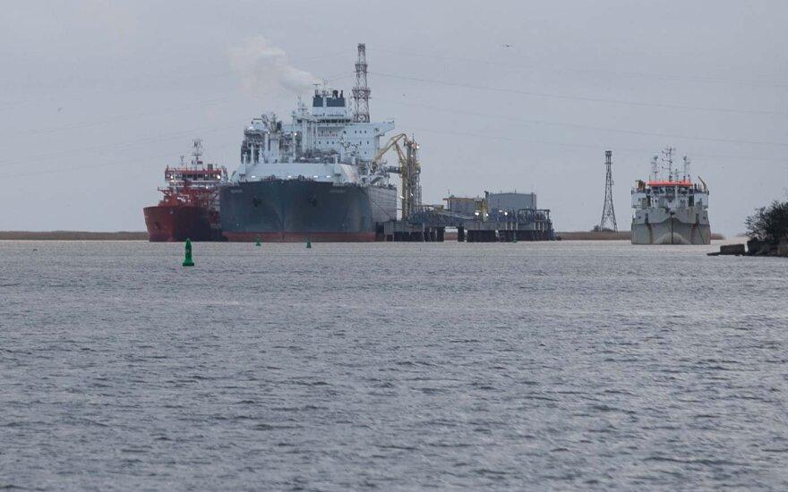 В Клайпеду идет второй груз нефти из США для Беларуси
