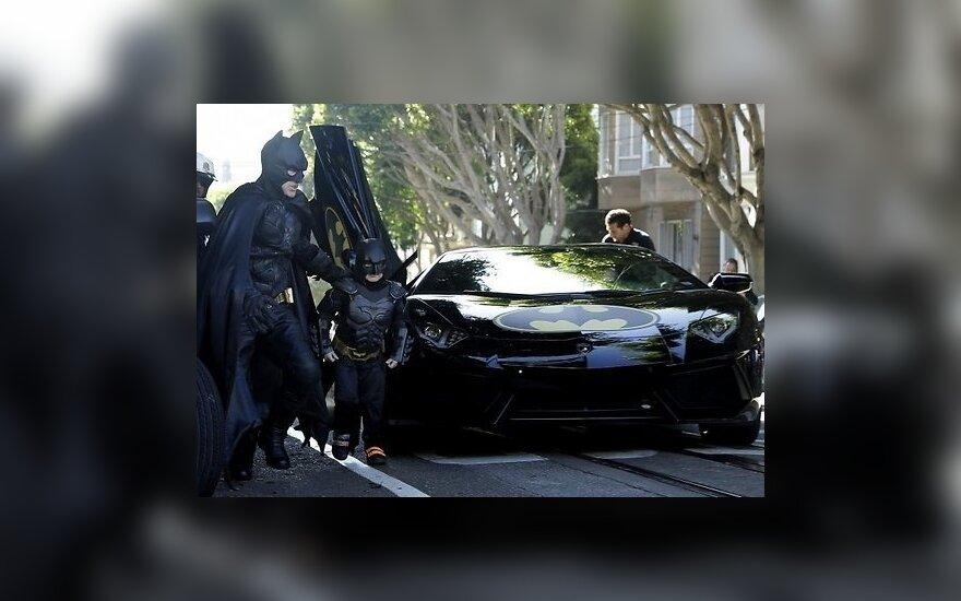 Сан-Франциско превратился в город Бэтмена ради больного ребенка