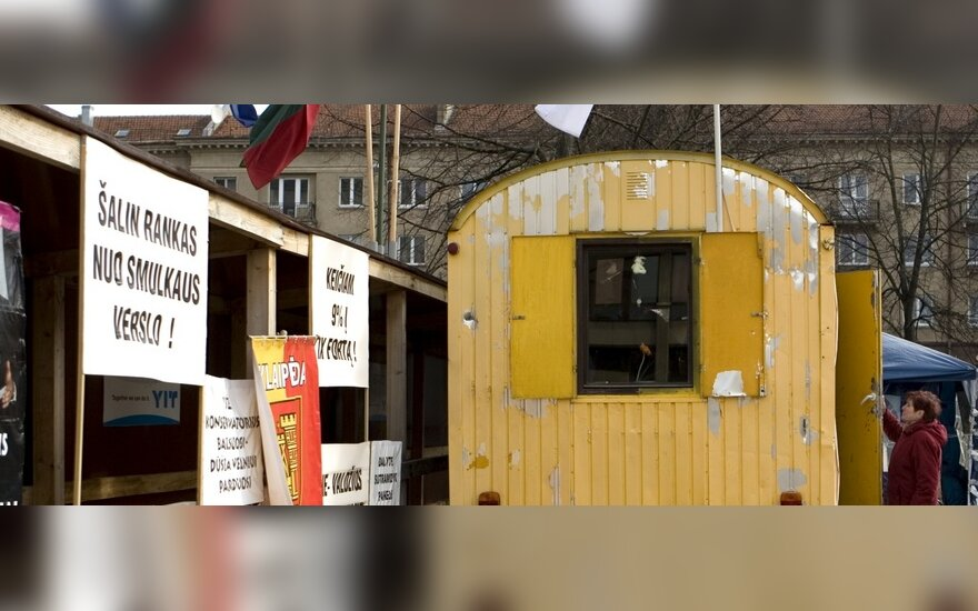 Рыночные торговцы планируют голодовку в Брюсселе
