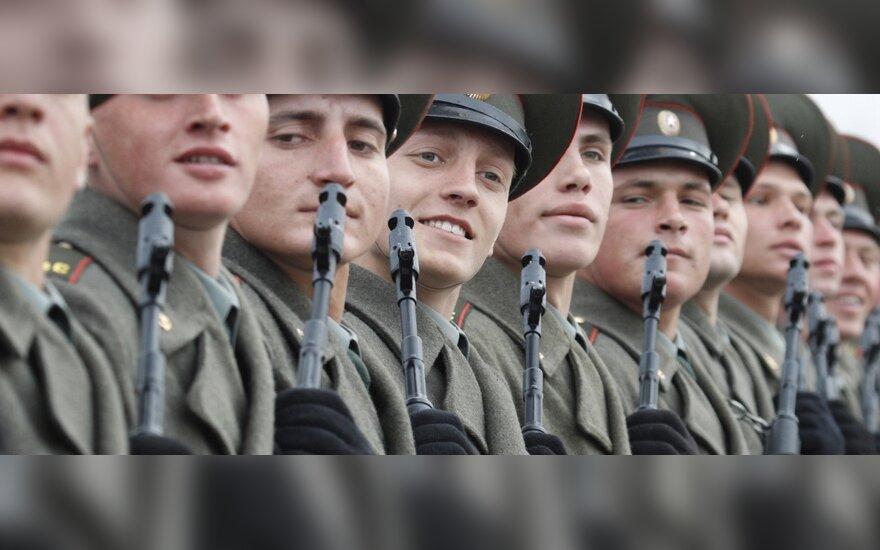 Российским солдатам запретили петь на морозе