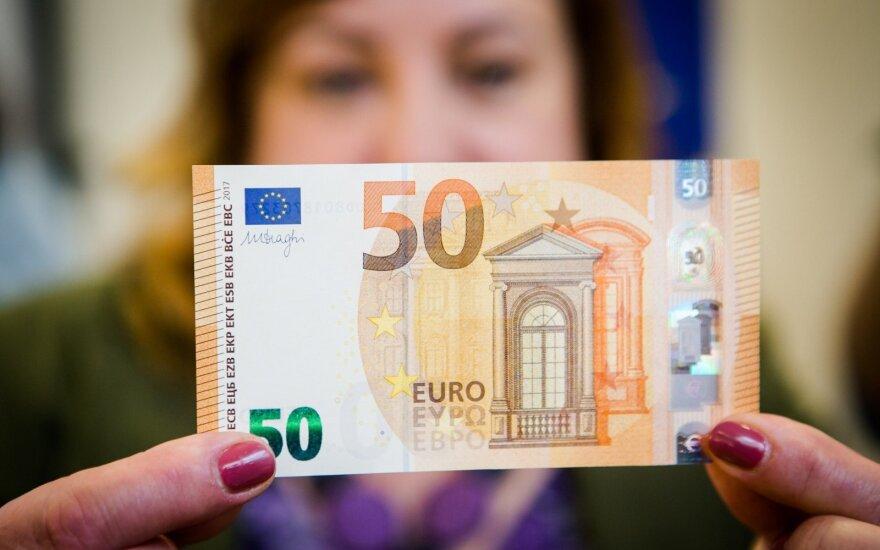 Представлена новая банкнота достоинством в 50 евро