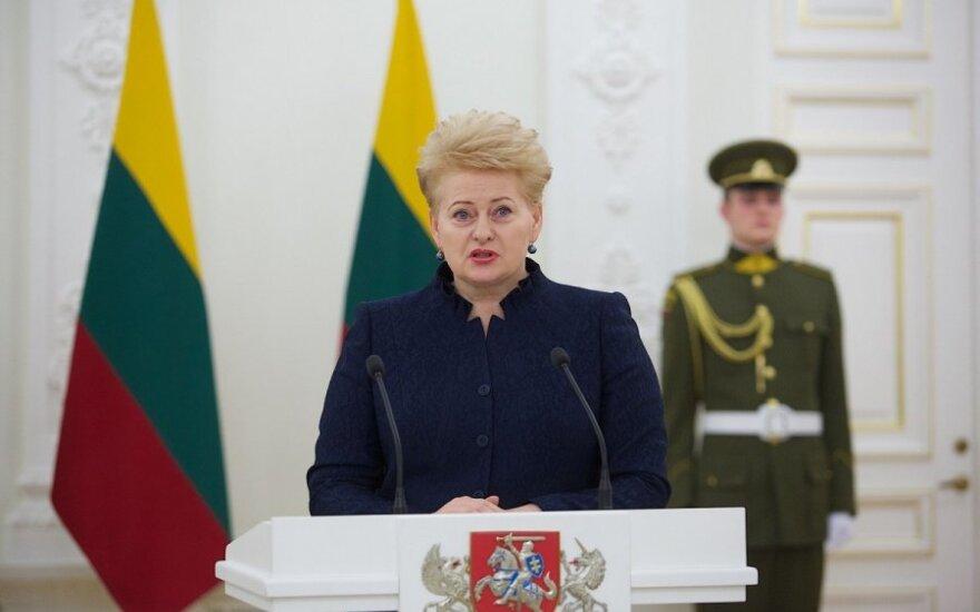 Dalia Grybauskaitė bardziej proukraińska niż prezydent Ukrainy
