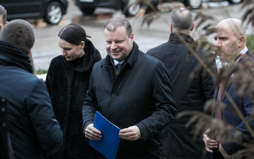 На время президентской кампании премьер Литвы возьмет отпуск за свой счет