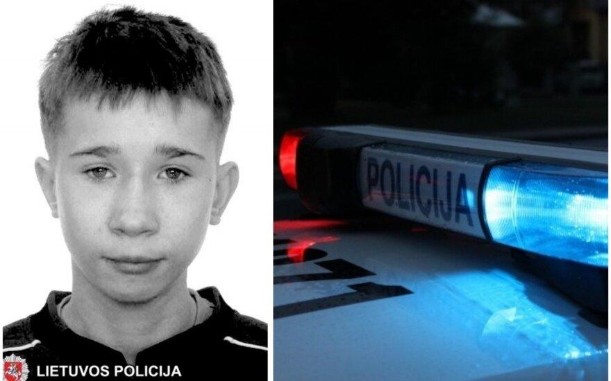 Полиция просит о помощи: в Вильнюсе пропал подросток