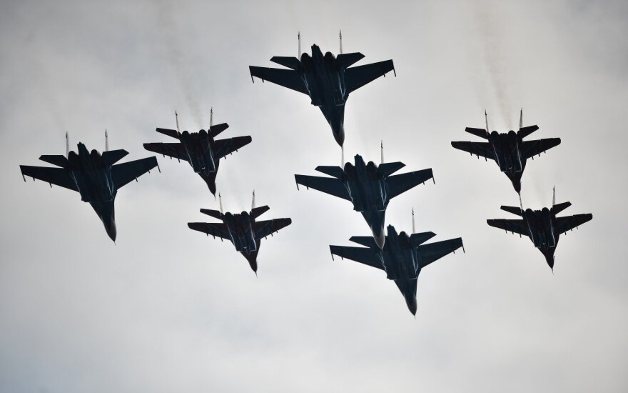 В Украине - катастрофа Су-27: погибли украинский и американский пилоты