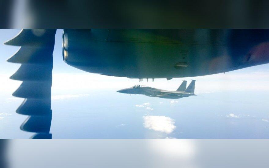 Истребители НАТО 4 раза сопроводили самолеты ВВС России
