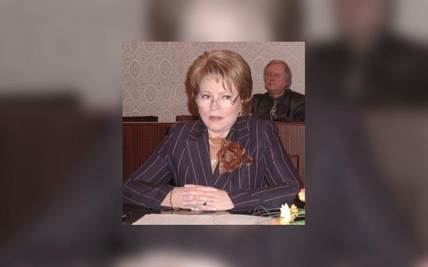 Valentina Matvijenko, Sankt-Peterburgo gubernatorė
