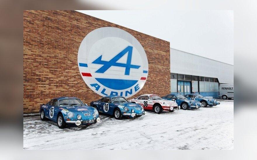 Alpine выпустит конкурентов Porsche 911, Panamera и Cayman