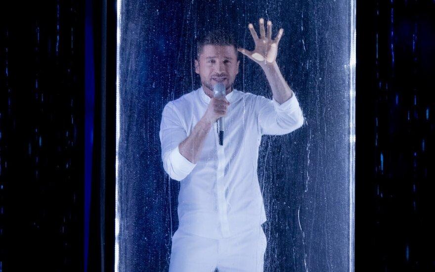 Antrasis Eurovizijos pusfinalis: Rusija – Sergėjus Lazarevas