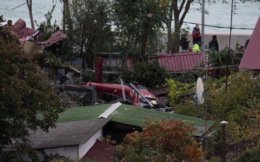 Умер второй пострадавший в результате падения вертолета в Сочи