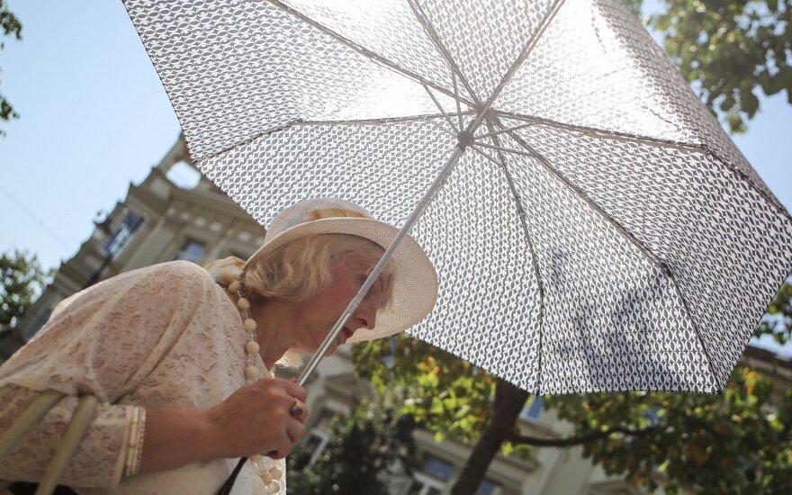 Ожидается еще одна волна жаркой погоды: воздух прогреется до 32 градусов