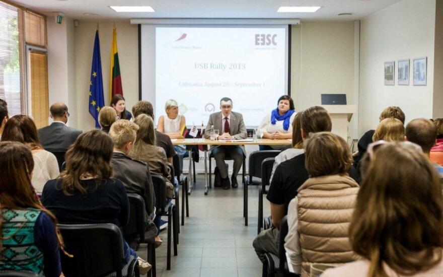 В Литве открылся слет обучающихся за рубежом белорусов