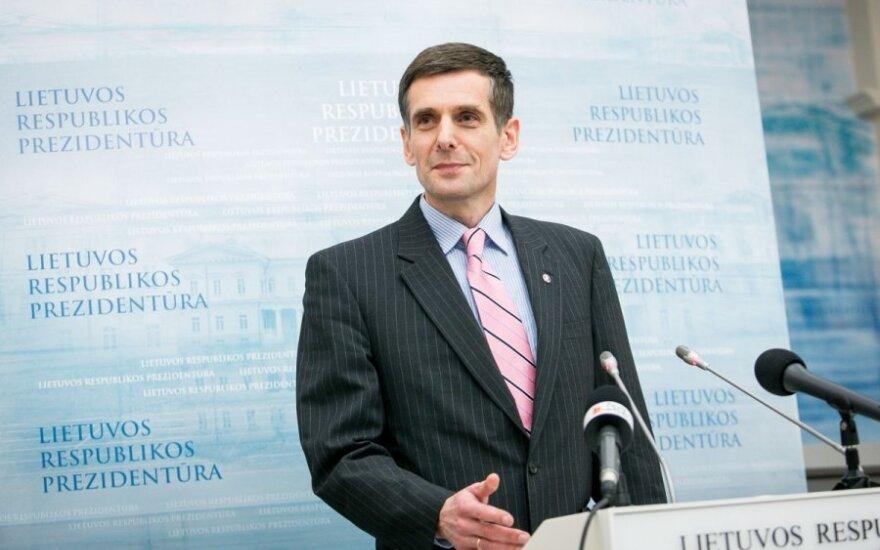 Глава ДГБ упомянул, что Успасских можно оценивать как угрозу безопасности Литвы