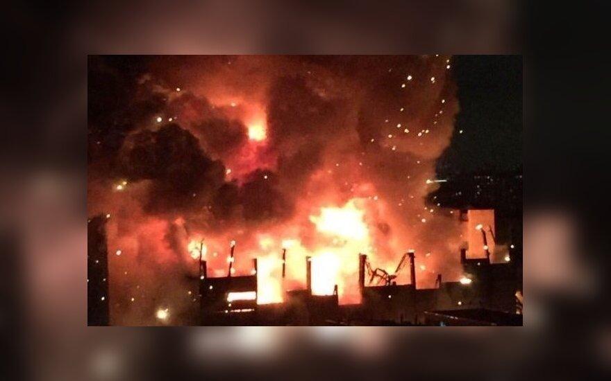 В подмосковной Балашихе в жилом доме произошел взрыв, погибли рабочие