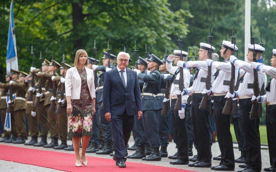 Штайнмайер заверил страны Балтии в поддержке Германии