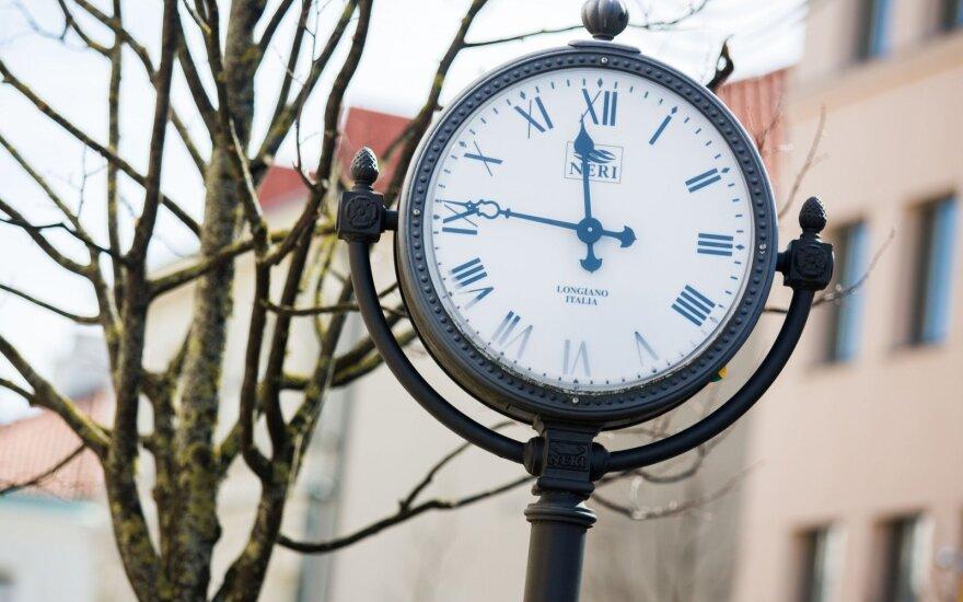 В ближайшие выходные Литва перейдет на зимнее время