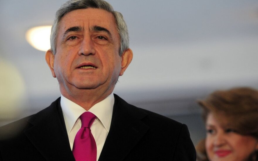 Perrinktas Armėnijos prezidentas Seržas Sargsianas