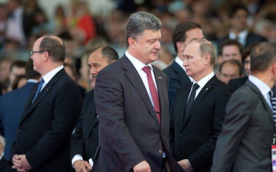 Vladimiras Putinas, Petro Porošenka