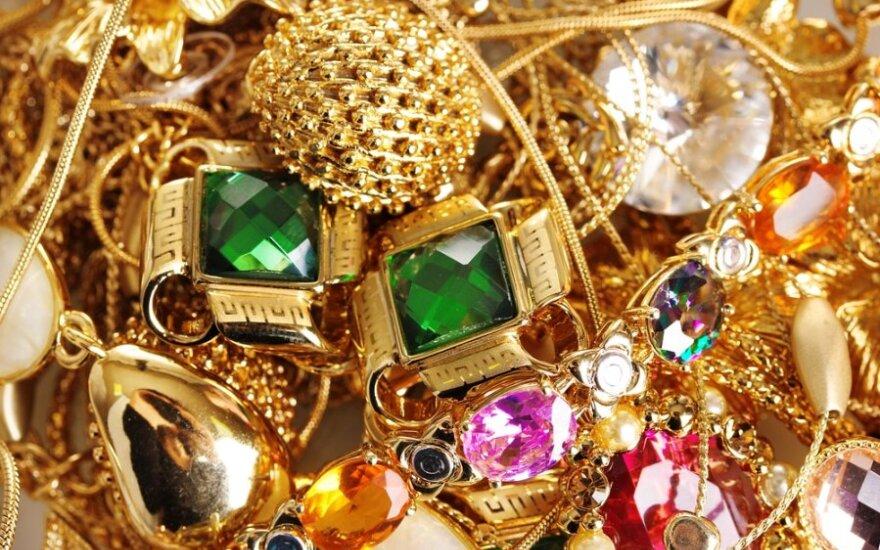 Латыши грабили ювелирные магазины на западе Литвы