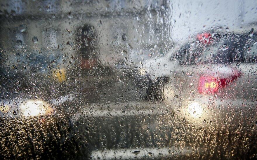 Погода: будет пасмурно, местами дожди