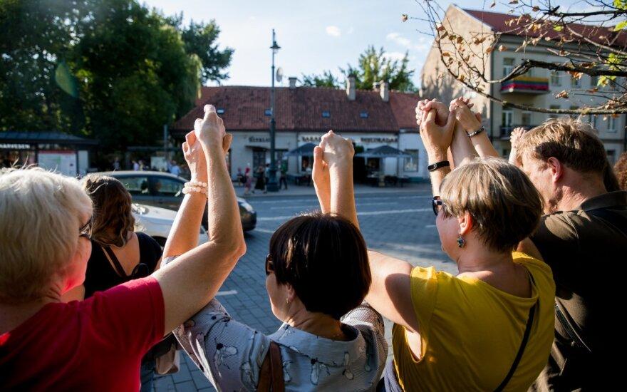 """Перед мероприятием """"Путь свободы"""" – предупреждение эпидемиологов: маски и перчатки"""