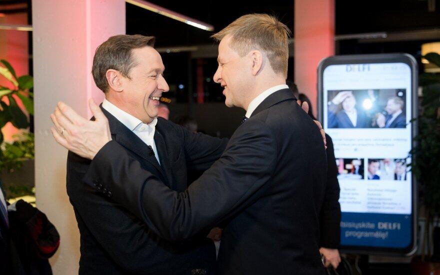 Зуокас рад большей фракции в горсовете Вильнюса: будем в оппозиции