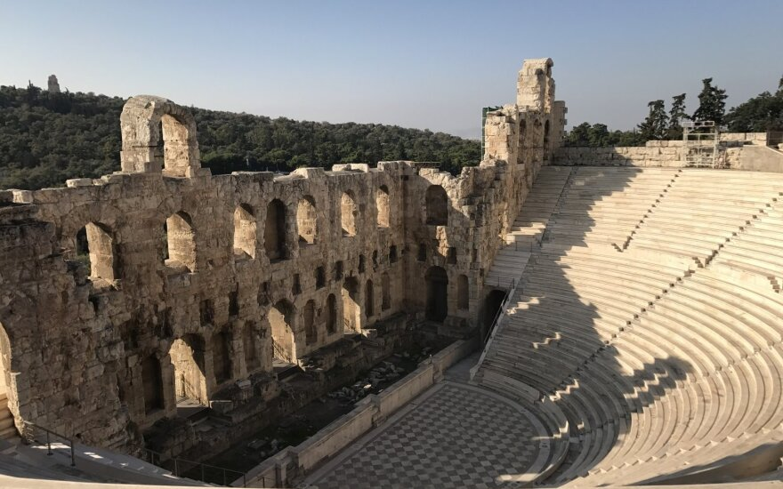 Греки отозвали рейсы из Вильнюса в Афины