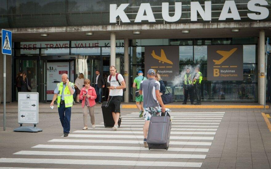 Пассажиропоток Каунасского аэропорта в 2019 году вырос на 15%