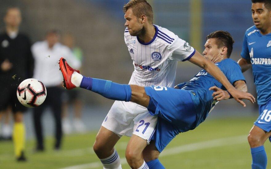 """Europos lyga: """"Zenit"""" - """"Dinamo"""""""
