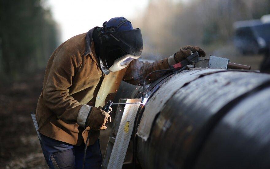 Обновлен газопровод на границе с Латвией