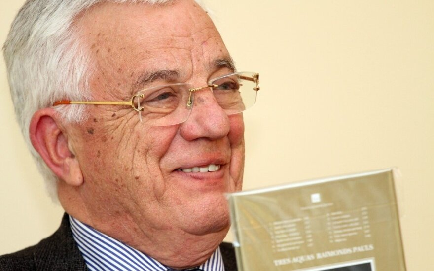 """""""Мне 82"""": как Раймонд Паулс отмечает день рождения"""