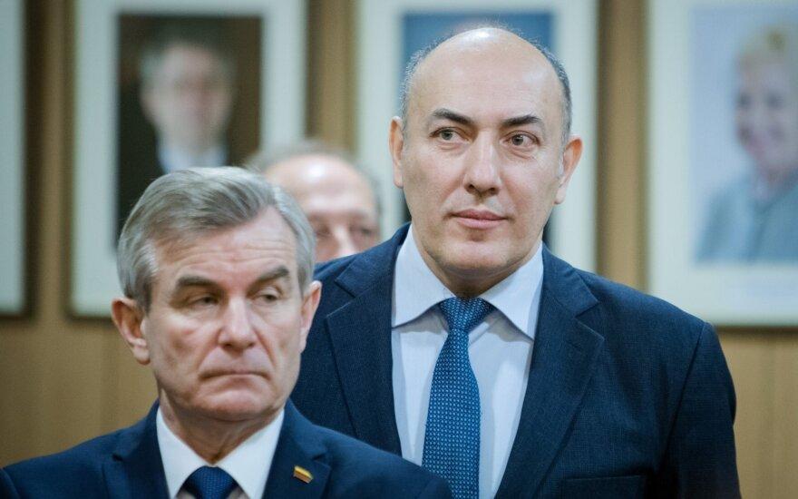 Viktoras Pranckietis ir Kęstutis Kudzmanas