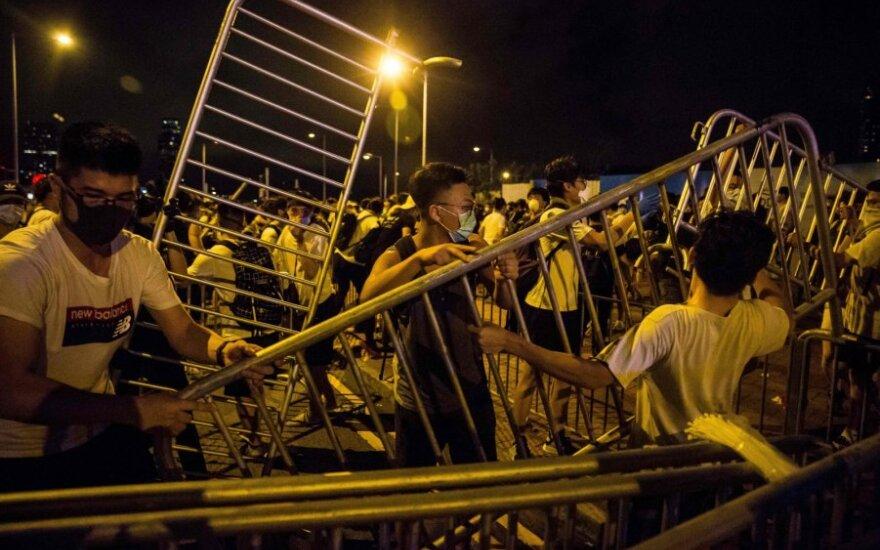 Honkonge ekstradicijos įstatymo kritikai trečiadienį rengs naują mitingą