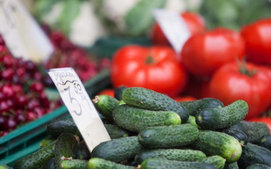 Lietuvoje darosi vis sunkiau rasti ekologiškų daržovių