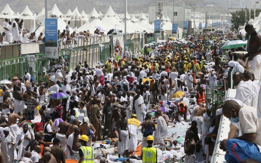Число жертв давки в Саудовской Аравии приближается к 770