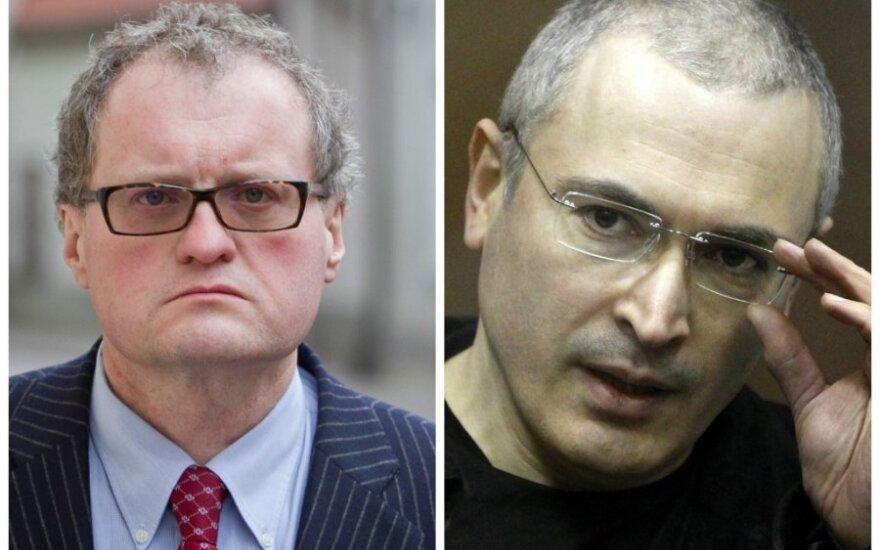 Ходорковский в письме благодарит литовского европарламентария Донскиса за поддержку