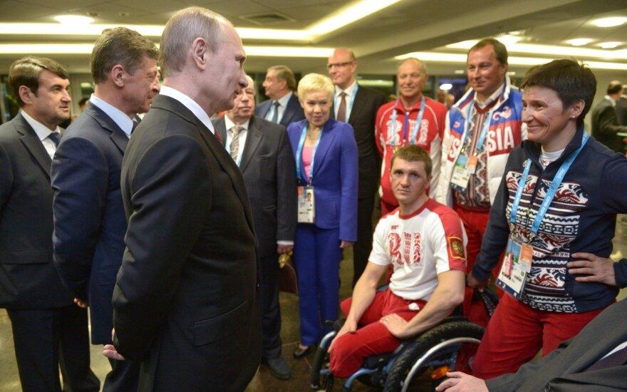 Rusijoje – Sočio parolimpinių žaidynių uždarymo ceremonija
