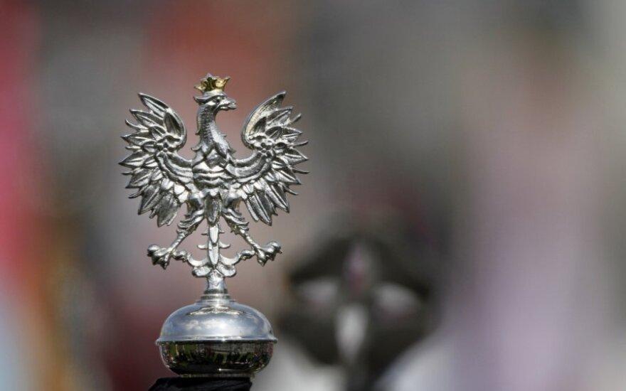 "Lenkijos herbas - ""Baltasis erelis"""