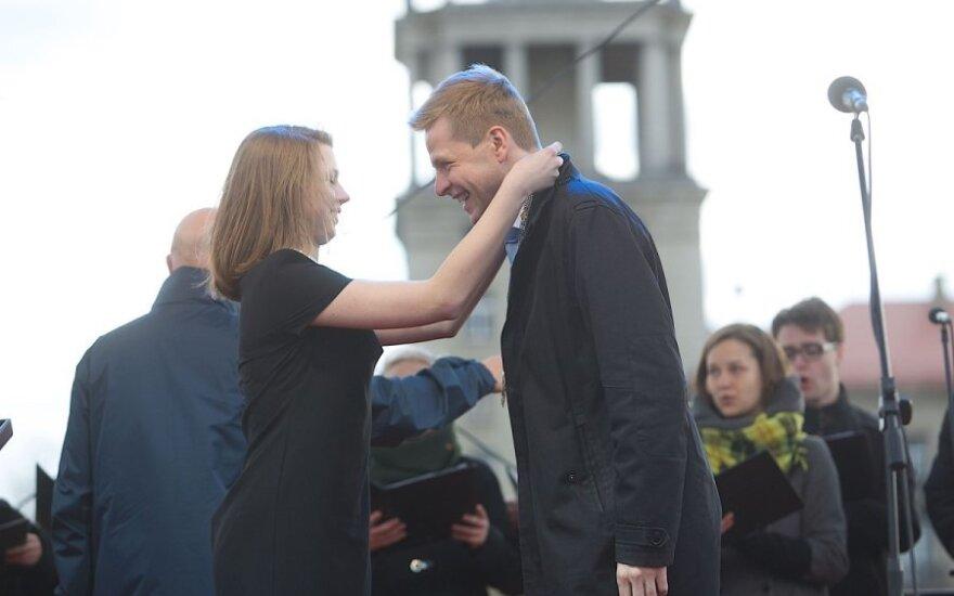 В Вильнюсе - торжественная инаугурация нового мэра столицы Литвы