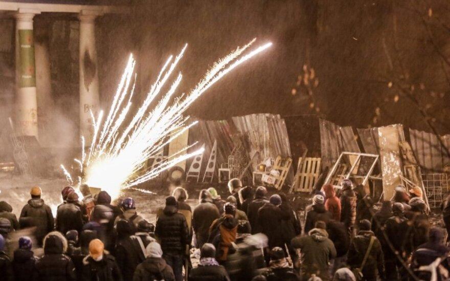 МВД Украины: в столкновениях в центре Киева пострадало 254 сотрудника