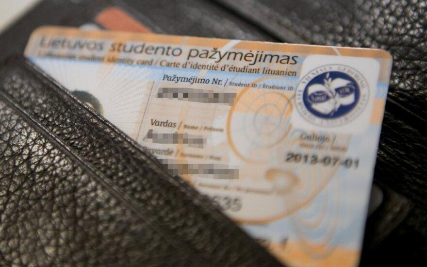 Lietuvos studento pažymėjimas