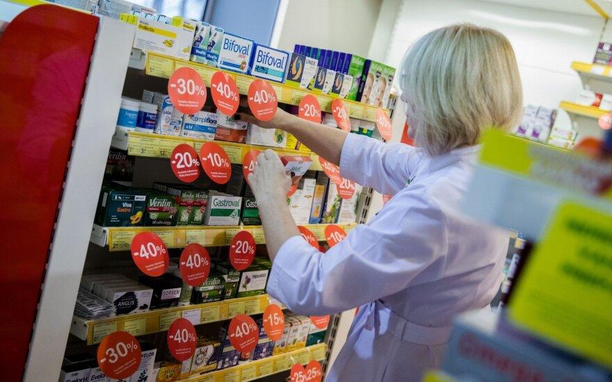Парламент Литвы не будет ограничивать число аптек в городах