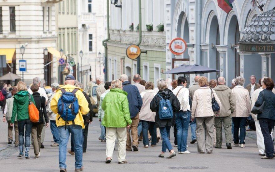 Меняется поведение российских туристов в Литве