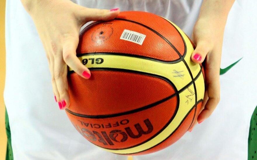 Tarptautinis moterų krepšinio turnyras. Lietuva - Latvija